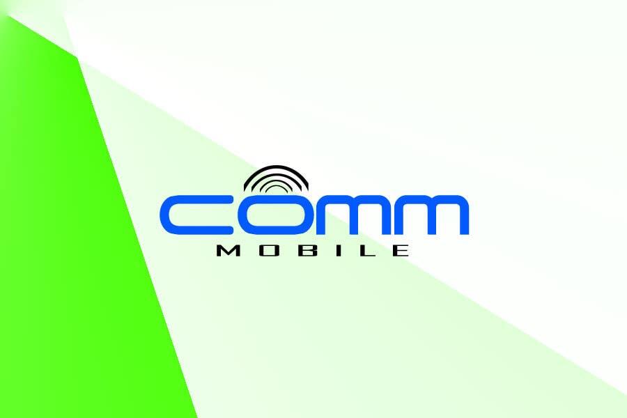 Bài tham dự cuộc thi #67 cho Logo Design for COMM MOBILE