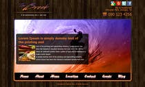 Website Design for The Break Bar and Grill contest winner
