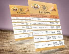#32 for Design a  Restaurant Flyer by shohelnezum