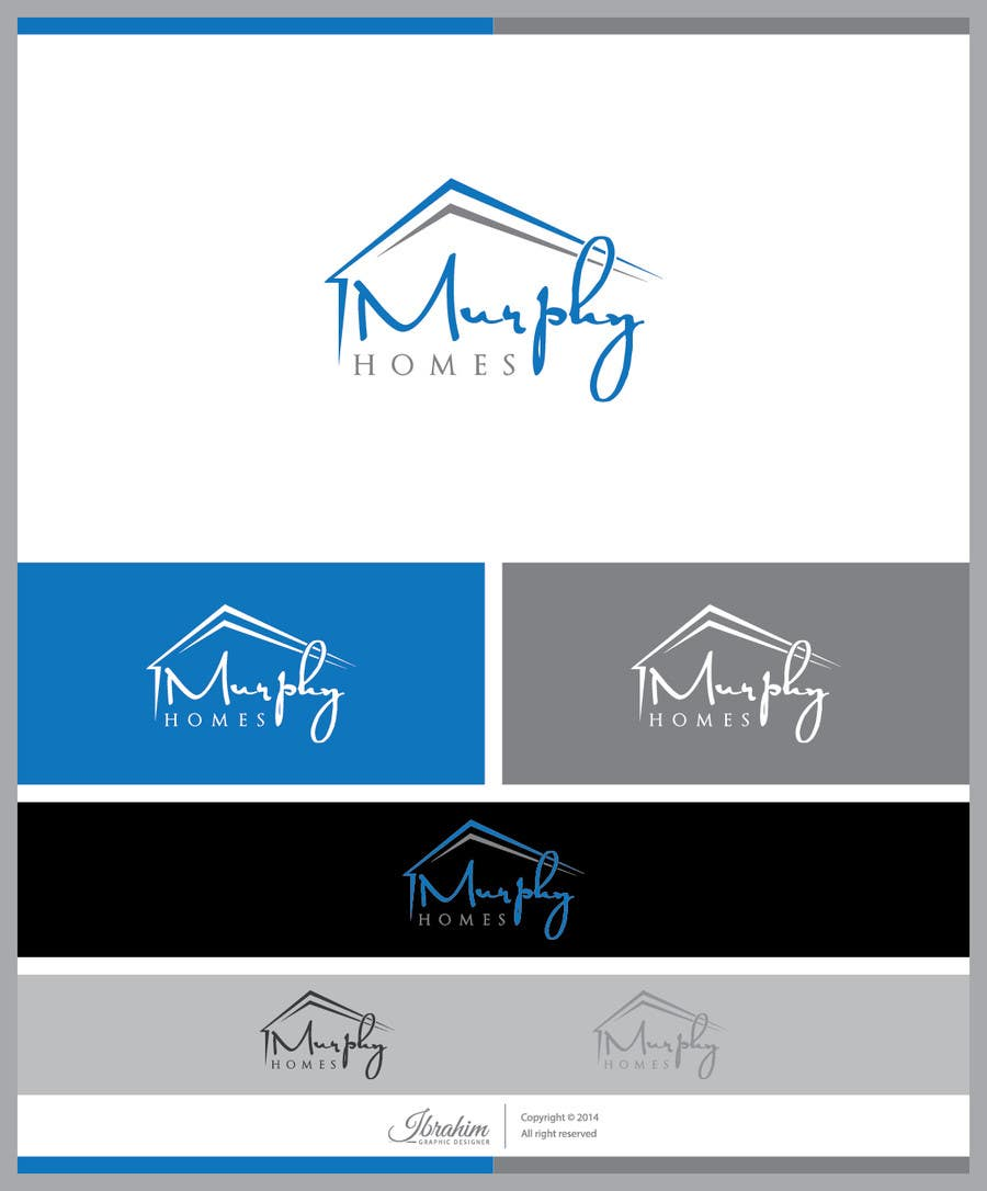 Конкурсная заявка №1458 для Logo for Murphy Homes