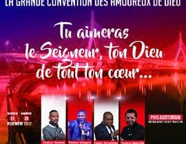 #3 untuk Design a Brochure - La Grande Convention des Amoureux de Dieu oleh Stickshot