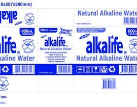 #5 para Package Design for alkalife Natural Alkaline Water de quinncy69