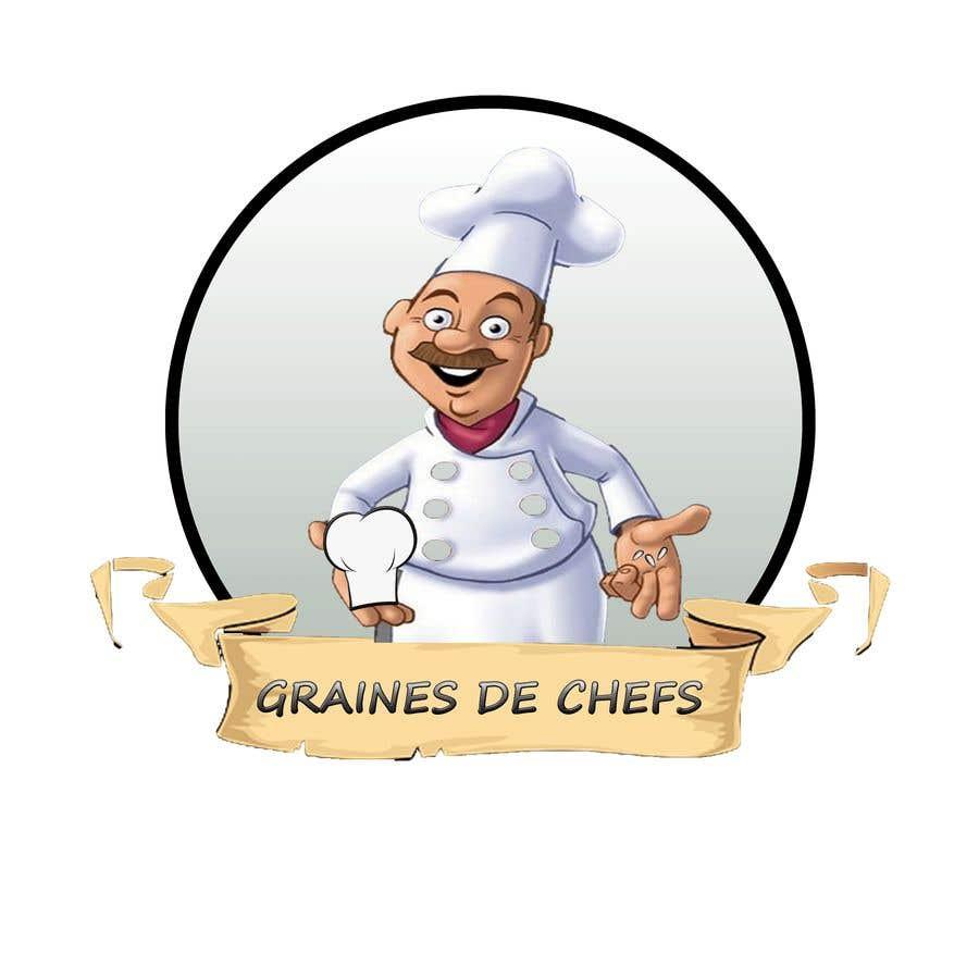 Entry #19 by benamarghiles for création de logo pour Chef de cuisine on