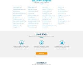 #22 untuk Homepage Website Mock oleh creativecas