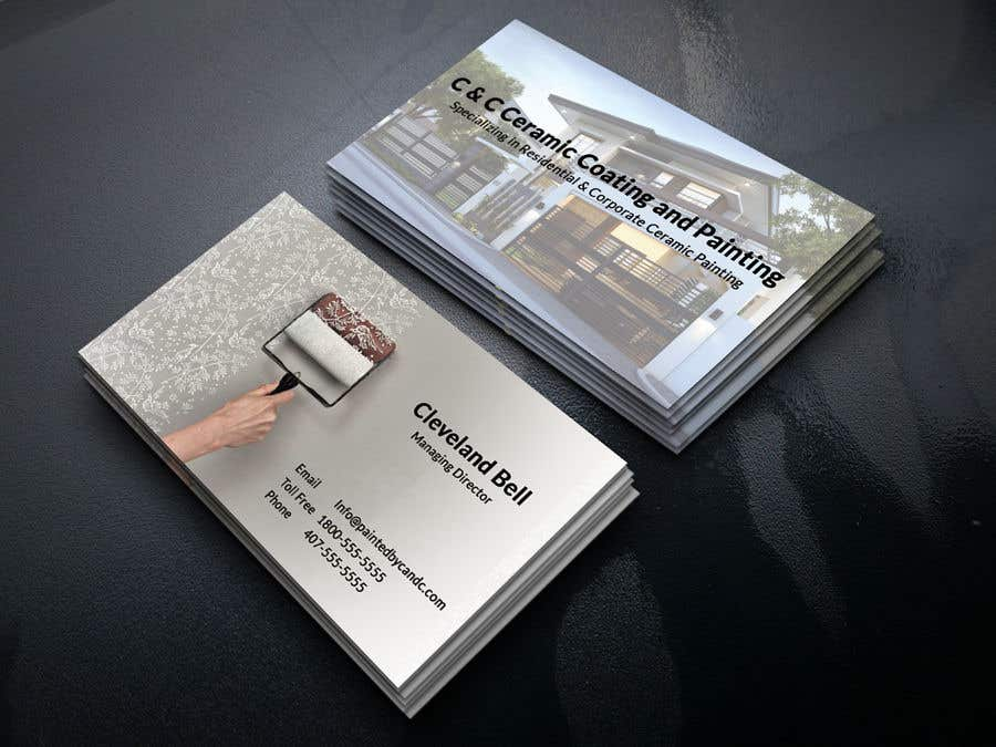 Painting Company Business Card   Freelancer