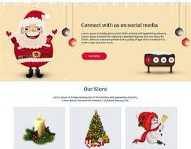 #22 for Website Mockup for Christmas Livestream site af rajchoudhary265