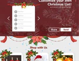#16 for Website Mockup for Christmas Livestream site af designsdux