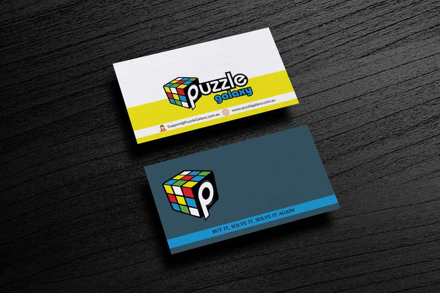 Entry 56 by hridoyrazz for business card design for puzzle galacxy contest entry 56 for business card design for puzzle galacxy colourmoves