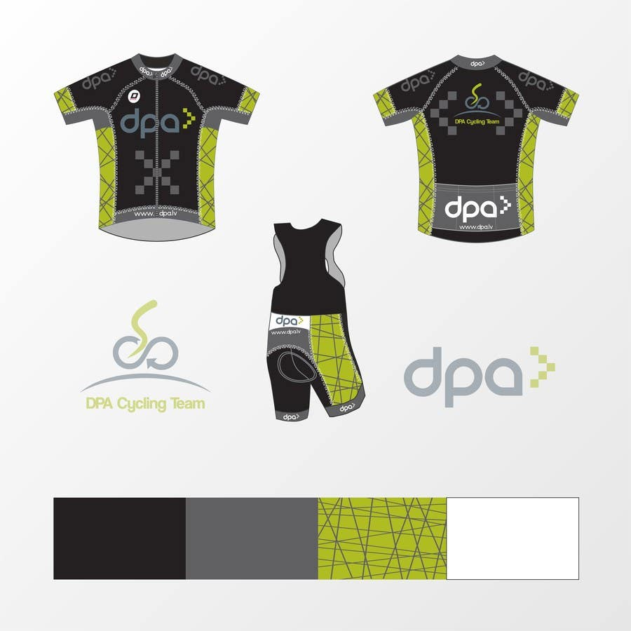 Entry 3 By Kamilasztobryn For Ideas For Tracksuit Design For Cycling Team Dpa Cycling Team Freelancer