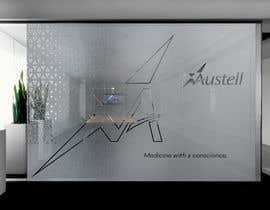 Nro 31 kilpailuun Branded frosted Glass vinyl design for glass doors/glass walls for business käyttäjältä DEZIGNWAY