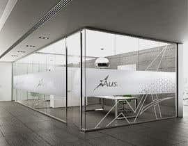 Nro 49 kilpailuun Branded frosted Glass vinyl design for glass doors/glass walls for business käyttäjältä DEZIGNWAY
