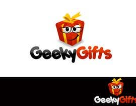 #301 para Logo Design for Geeky Gifts por pinky