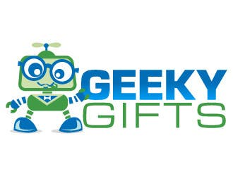 Contest Entry #                                        173                                      for                                         Logo Design for Geeky Gifts