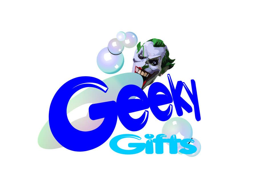 Contest Entry #                                        442                                      for                                         Logo Design for Geeky Gifts