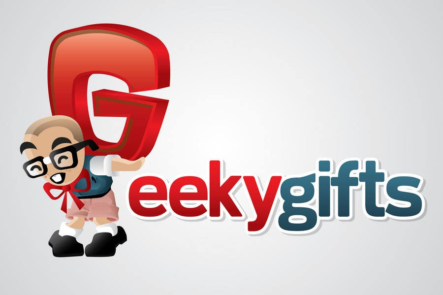 Contest Entry #                                        350                                      for                                         Logo Design for Geeky Gifts