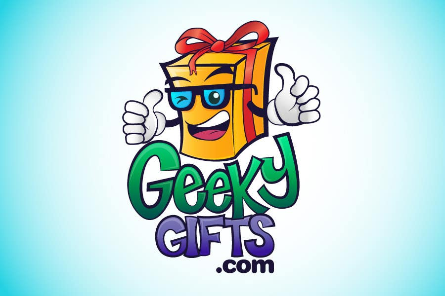 Contest Entry #                                        259                                      for                                         Logo Design for Geeky Gifts