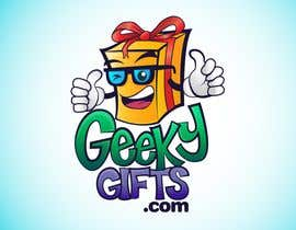 #259 för Logo Design for Geeky Gifts av moncapili
