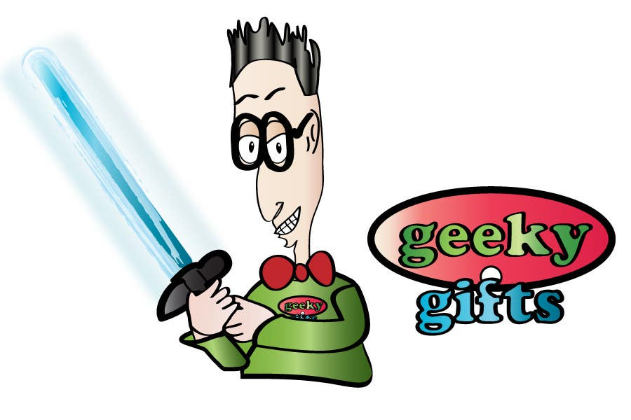 Contest Entry #                                        366                                      for                                         Logo Design for Geeky Gifts