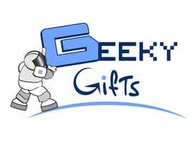 #202 para Logo Design for Geeky Gifts por HappyJongleur