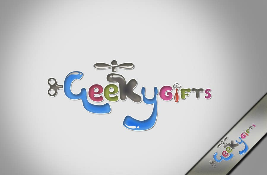 Contest Entry #                                        348                                      for                                         Logo Design for Geeky Gifts