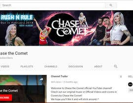 #53 for YouTube banner for a female-fronted rock band's channel by nishattasniem