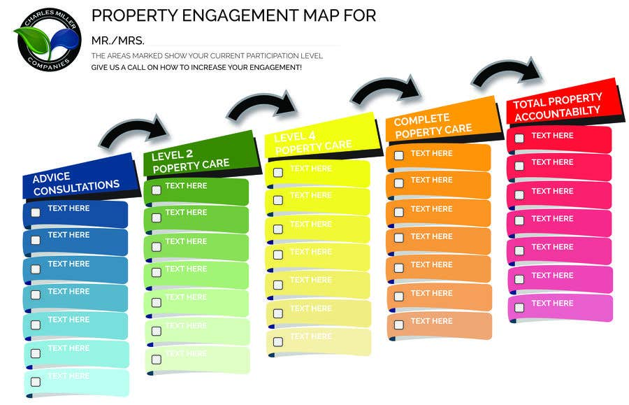 Entry #15 by MoeedNaeem for Very Simple! Engagement Map