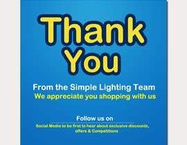 #111 для Thank you email banner від Mhasan626297
