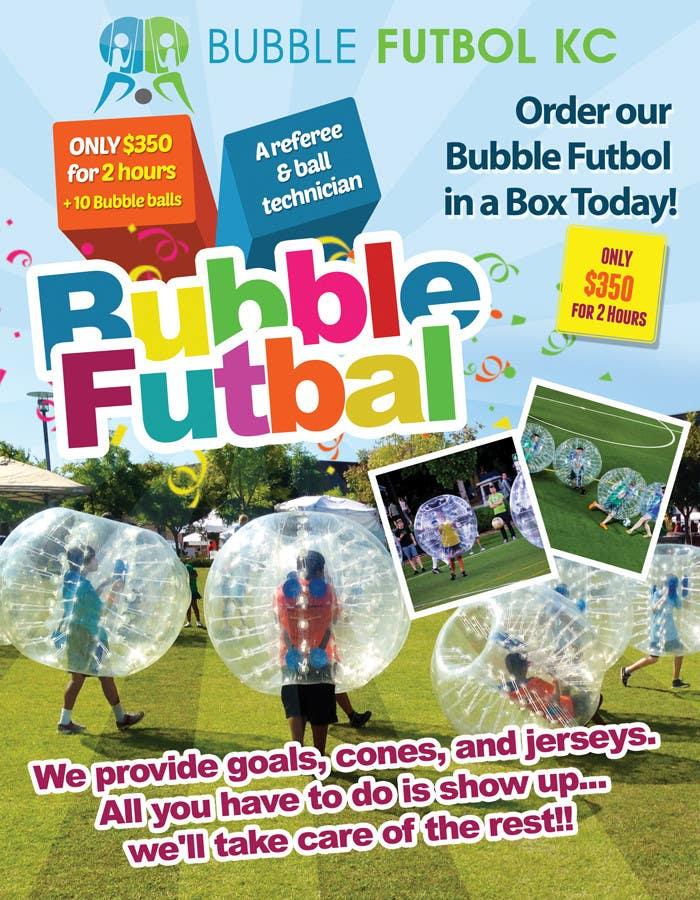 Bài tham dự cuộc thi #                                        3                                      cho                                         Design a Flyer for Bubble Futbol KC