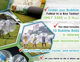 #4 cho Design a Flyer for Bubble Futbol KC bởi TDuongVn