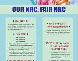 #65 for Design Posters for NRC Assam by ridwanarfid101