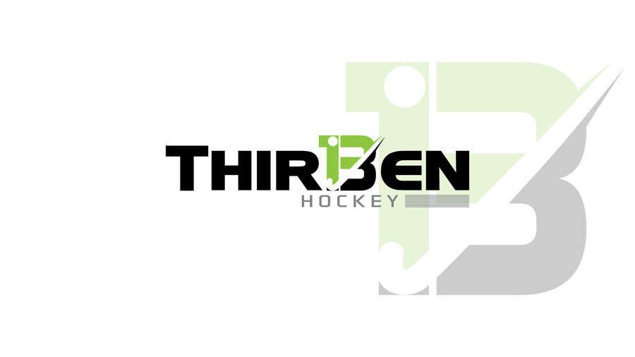 Kilpailutyö #                                        102                                      kilpailussa                                         Logo Design for Thirteen Hockey