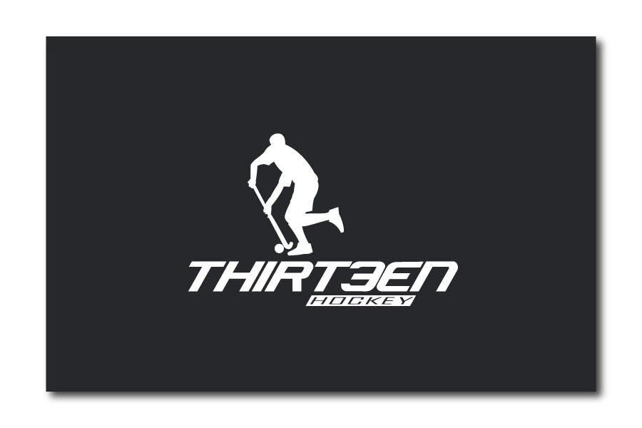 Kilpailutyö #                                        124                                      kilpailussa                                         Logo Design for Thirteen Hockey
