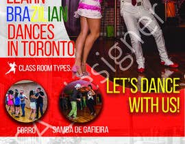 #3 para Flyer para escola de dança por albertcfn