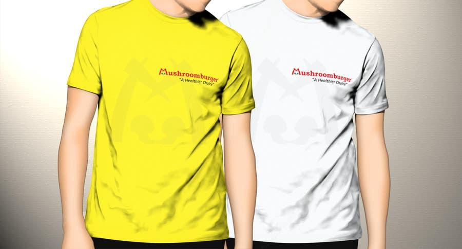 Penyertaan Peraduan #8 untuk T-shirt Design for Mushroomburger Phils., Inc.