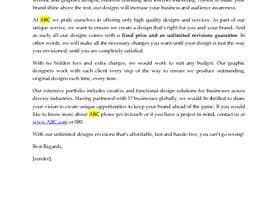 nº 9 pour Need 2 Email Template Written par maureendass