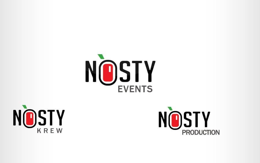 Bài tham dự cuộc thi #106 cho Logo Design for Nòsty, Nòsty Krew, Nòsty Deejays, Nòsty Events, Nòsty Production, Nòsty Store