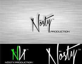 #62 untuk Logo Design for Nòsty, Nòsty Krew, Nòsty Deejays, Nòsty Events, Nòsty Production, Nòsty Store oleh JoeMista