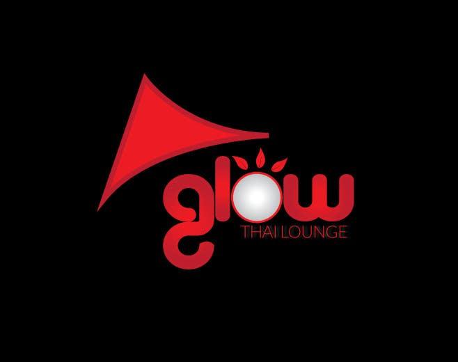Kilpailutyö #385 kilpailussa Logo Design for Glow Thai Lounge