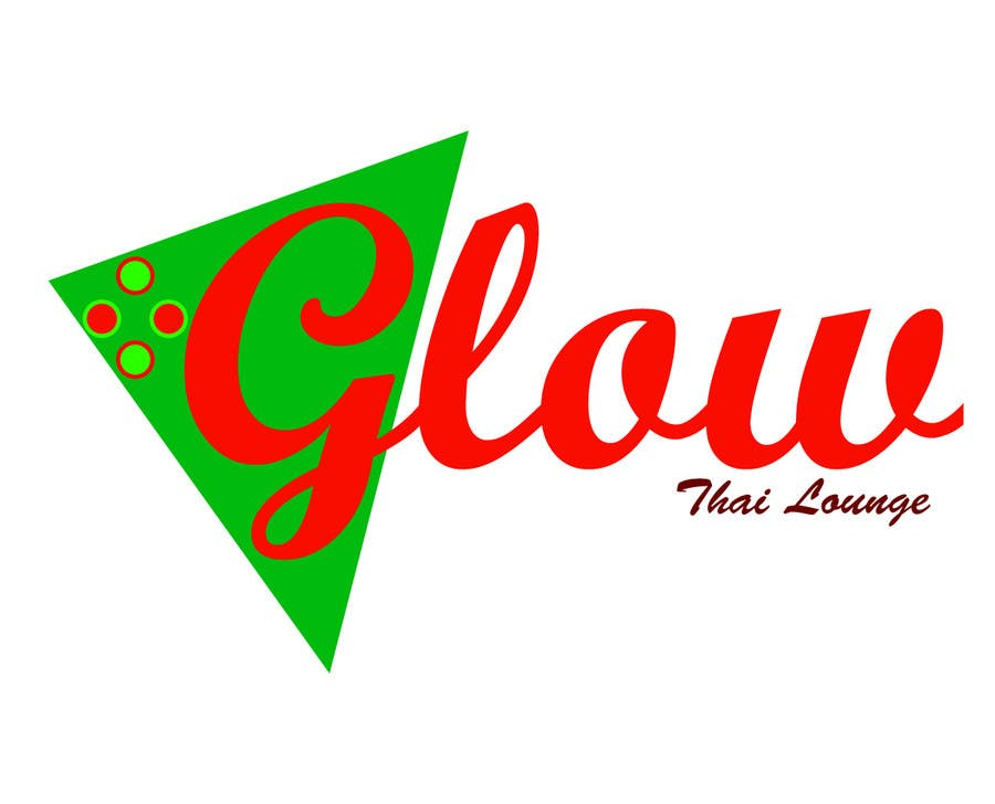 Kilpailutyö #328 kilpailussa Logo Design for Glow Thai Lounge