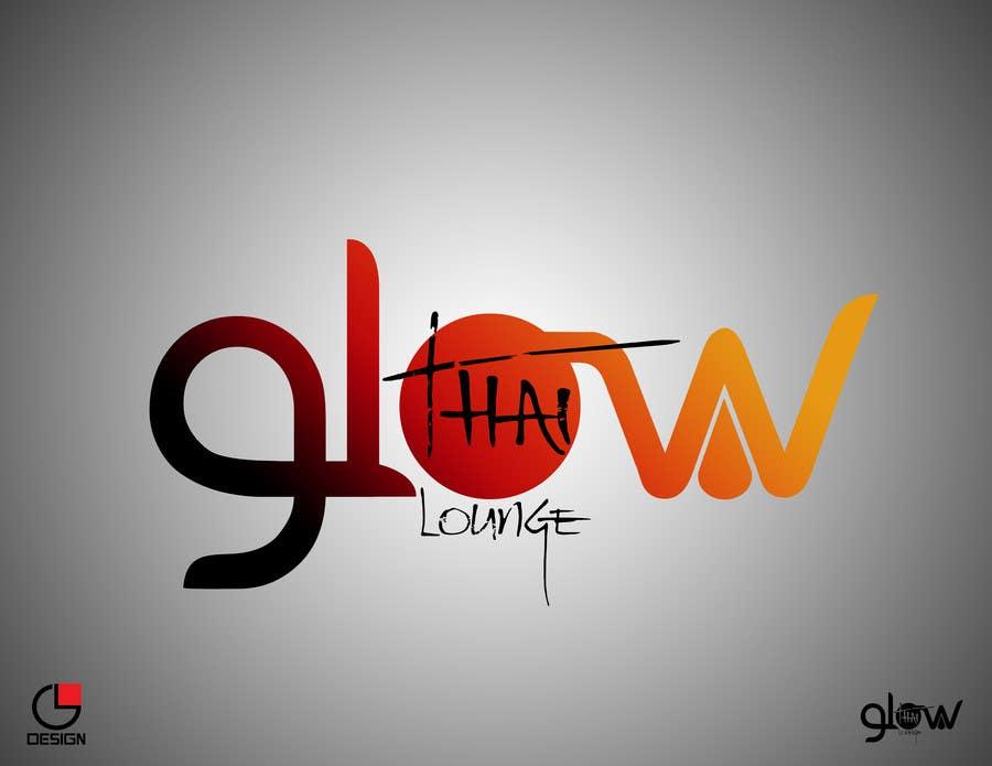 Конкурсная заявка №324 для Logo Design for Glow Thai Lounge