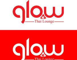 nº 331 pour Logo Design for Glow Thai Lounge par dynastydezigns