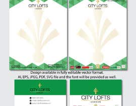 #36 for Stationary Design - City Lofts by theotonious225