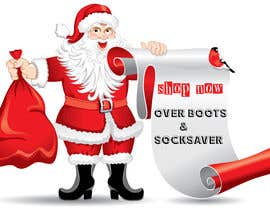 #4 para Santa in overboots for facebook ad. por designvillage08