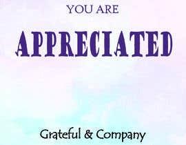 nº 42 pour Design for my gratitude cards par sabbirhossaino