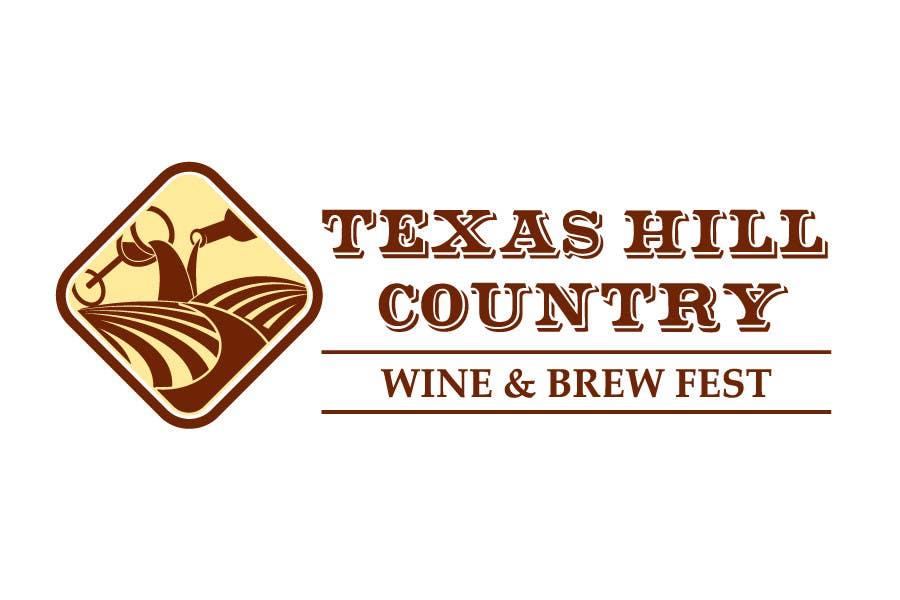 Bài tham dự cuộc thi #38 cho Logo Design for Texas Hill Country Wine & Brew Fest