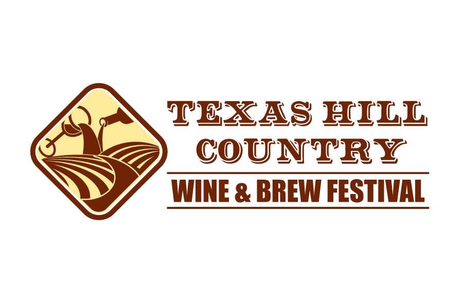 Penyertaan Peraduan #                                        49                                      untuk                                         Logo Design for Texas Hill Country Wine & Brew Fest