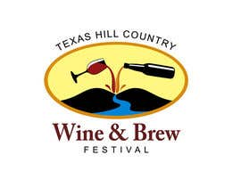#13 para Logo Design for Texas Hill Country Wine & Brew Fest por smarttaste