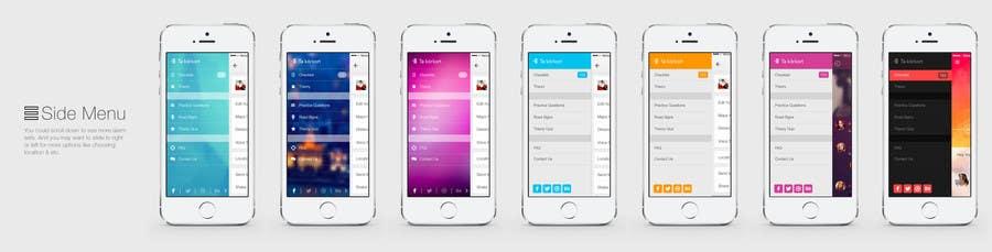 Penyertaan Peraduan #                                        43                                      untuk                                         Redesign main menu for our IOS app