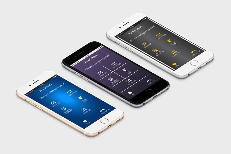 Penyertaan Peraduan #                                        36                                      untuk                                         Redesign main menu for our IOS app
