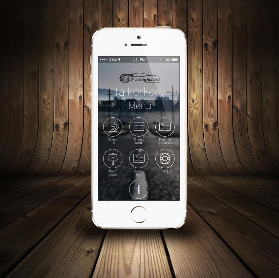 Penyertaan Peraduan #                                        20                                      untuk                                         Redesign main menu for our IOS app